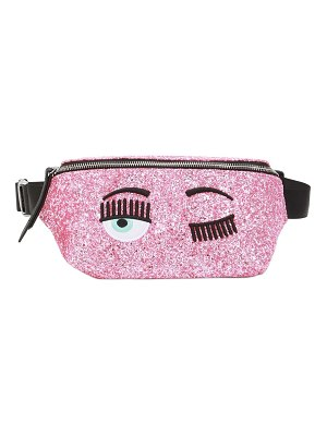 Chiara Ferragni Glittered belt bag