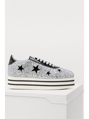 Chiara Ferragni Suite platform sneakers with stars
