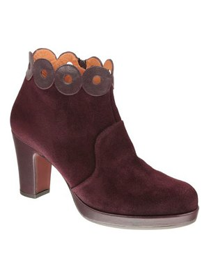 Chie Mihara Jotisa Suede Ring-Collar Ankle Boots