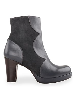 Chie Mihara Ju-Carel Mixed Leather Ankle Booties