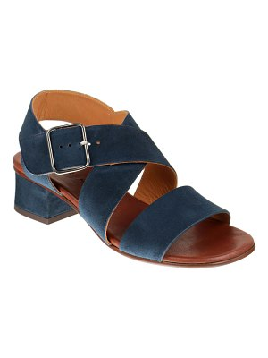 Chie Mihara Qua-Israel Suede Strappy Ankle Sandals