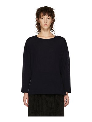 CHIMALA Big Boatneck Wool T-Shirt