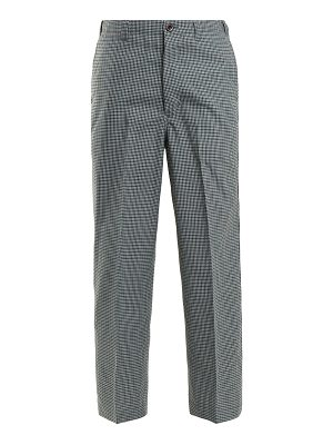 CHIMALA Checked straight-leg wool-blend trousers