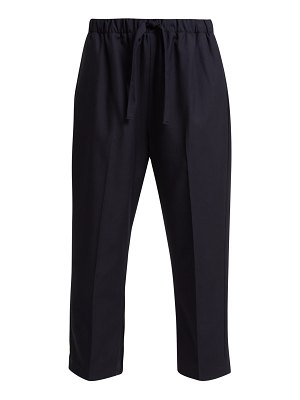 CHIMALA Cropped Wool Twill Trousers