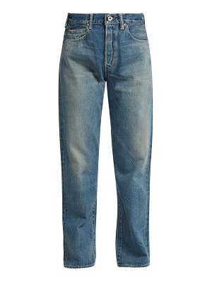 CHIMALA Selvedge-denim straight-leg jeans