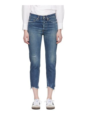 CHIMALA Selvedge Narrow Tapered Cut Jeans