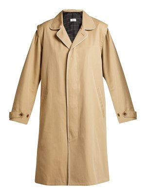 CHIMALA Single Breasted Cotton Twill Trench Coat