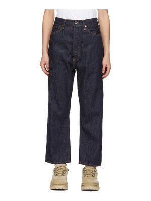 CHIMALA Wide Tapered Selvedge Jeans