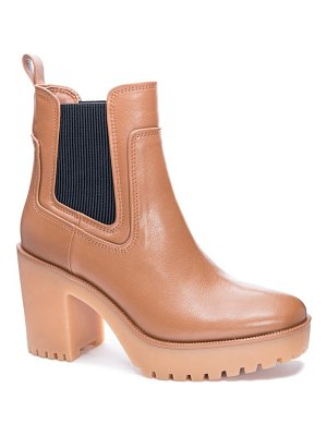 Chinese Laundry good day platform chelsea boot