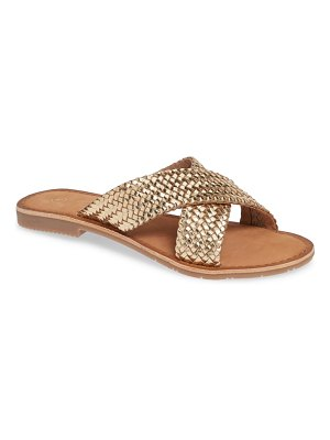 Chinese Laundry pure woven slide sandal