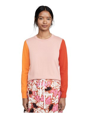 Chinti and Parker colorblock sweater