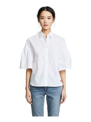 Chinti and Parker fluted sleeve shirt