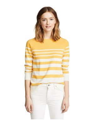 Chinti and Parker increasing stripe cashmere sweater