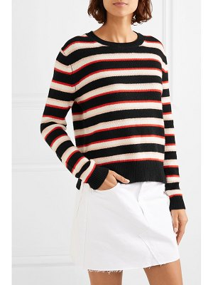 Chinti and Parker jalisco striped cashmere sweater