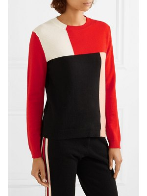 Chinti and Parker luis casa color-block cashmere sweater