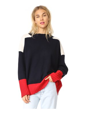Chinti and Parker ribbed comfort cashmere sweater