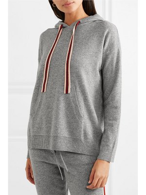 Chinti and Parker ringmaster cashmere and wool-blend hoodie