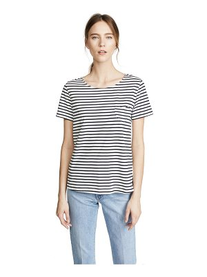 Chinti and Parker s/s heart pocket tee