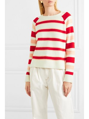 Chinti and Parker trapeze striped cashmere sweater