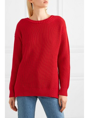 Chinti and Parker weekend ribbed cotton sweater