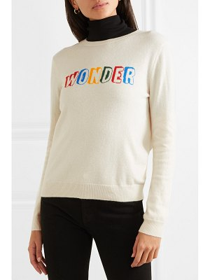 Chinti and Parker wonder intarsia cashmere sweater