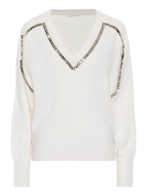 Chloé embellished cashmere sweater