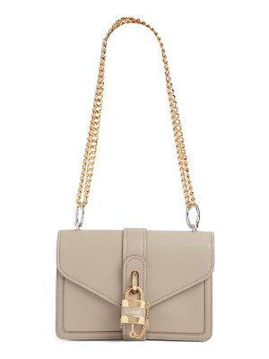 Chloe aby leather shoulder bag