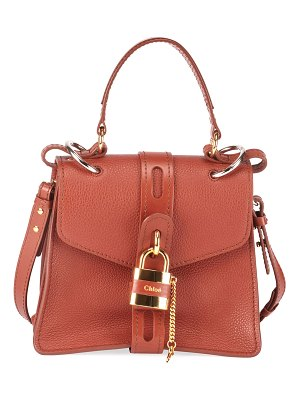 Chloe Aby Small Grained Top-Handle Bag