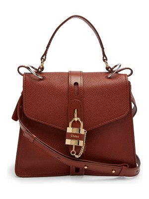 Chloe aby small leather shoulder bag