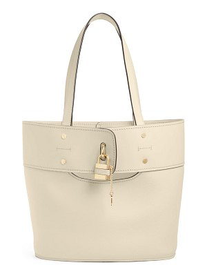 Chloe aby small leather tote