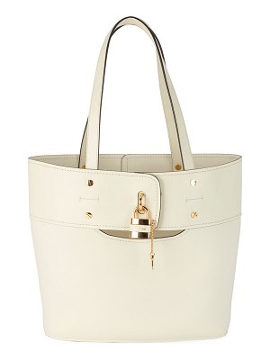 Chloe Aby Small Lock-and-Key Tote Bag