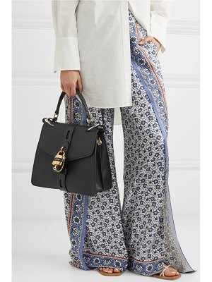 Chloe aby small textured-leather tote