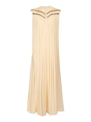 Chloe beaded silk georgette gown