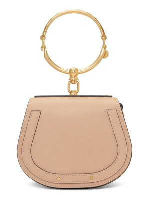 Chloe beige small nile bracelet bag