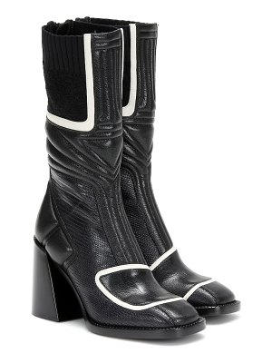 Chloe bell leather ankle boots