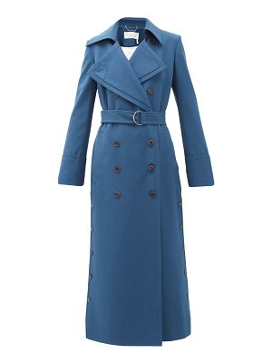 Chloe belted stretch-twill trench coat