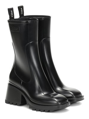 Chloe betty pvc ankle boots