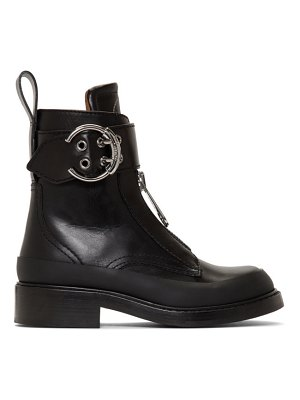 Chloe black roy ankle boots