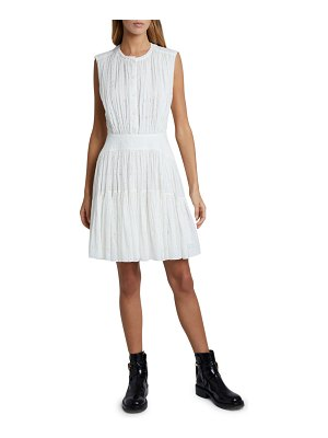 Chloe Broderie Anglaise Fit-and-Flare Dress