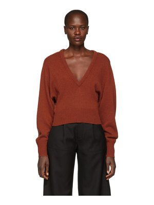 Chloe Cashmere V-Neck Sweater