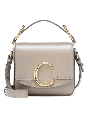 Chloe chloé c mini leather shoulder bag