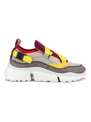 Chloe colorblock sneakers