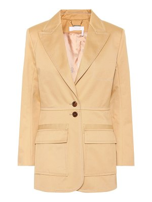 Chloe cotton blazer
