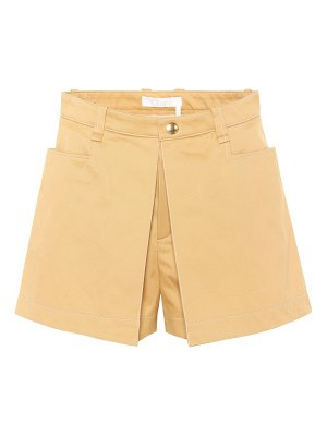 Chloe cotton shorts