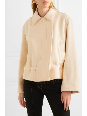 Chloe cropped wool-blend jacket