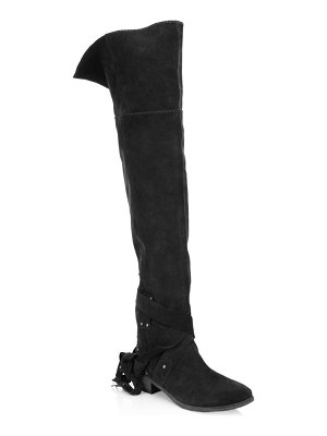 Chloe Dasha Over-The-Knee Suede Boots