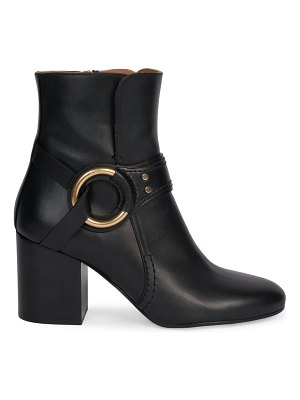 Chloe demi leather ankle boots