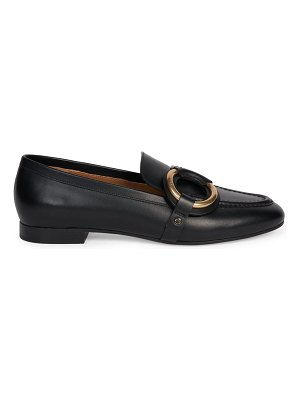 Chloe demi leather loafers