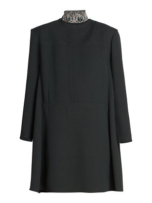 Chloe double face crepe shift dress
