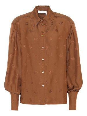 Chloe embroidered blouse
